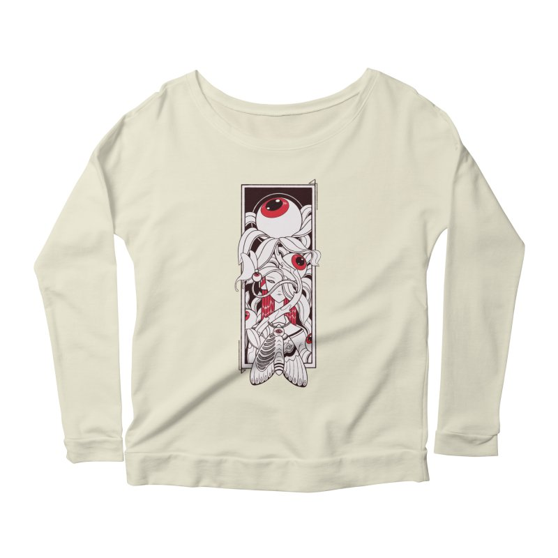 garden of anatomy Women's Scoop Neck Longsleeve T-Shirt by makapa's Artist Shop