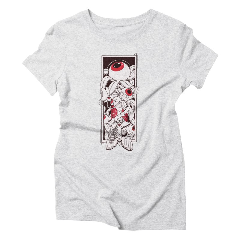 garden of anatomy Women's T-Shirt by makapa's Artist Shop
