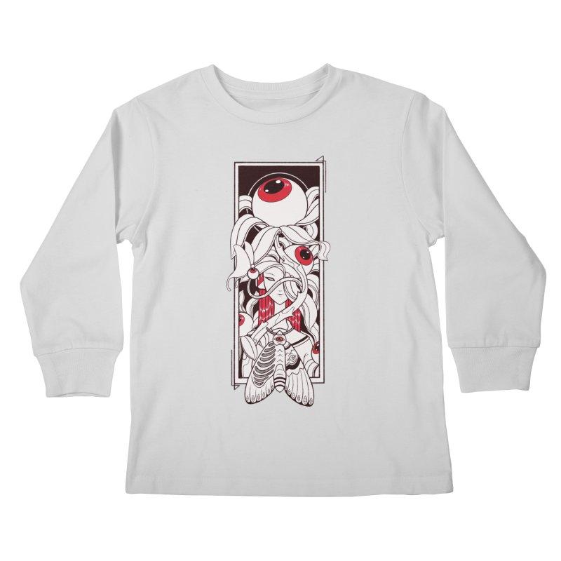 garden of anatomy Kids Longsleeve T-Shirt by makapa's Artist Shop