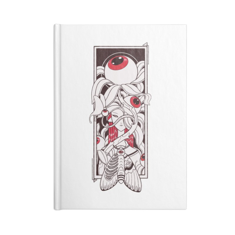 garden of anatomy Accessories Lined Journal Notebook by makapa's Artist Shop