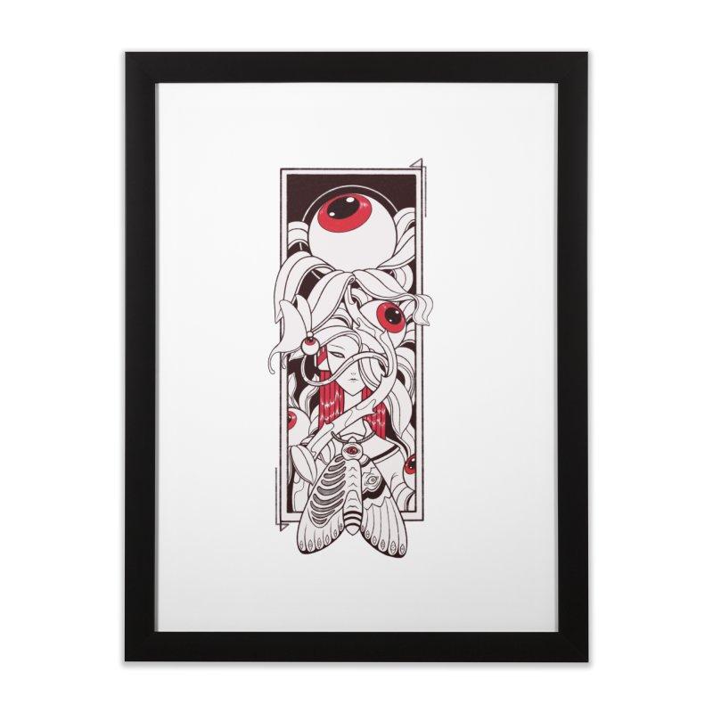 garden of anatomy Home Framed Fine Art Print by makapa's Artist Shop