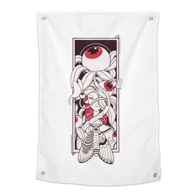 garden of anatomy Home Tapestry by makapa's Artist Shop