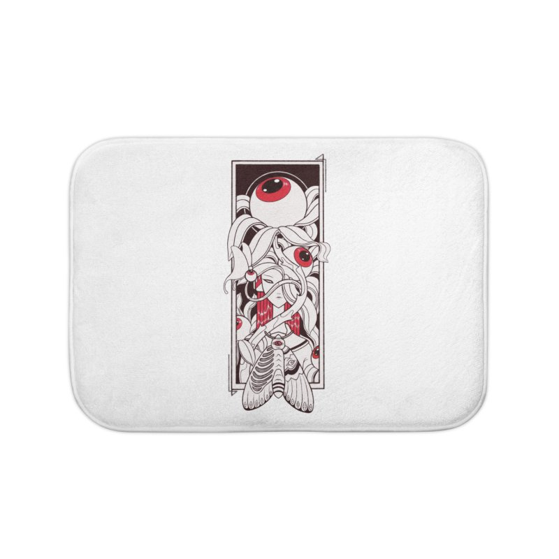 garden of anatomy Home Bath Mat by makapa's Artist Shop