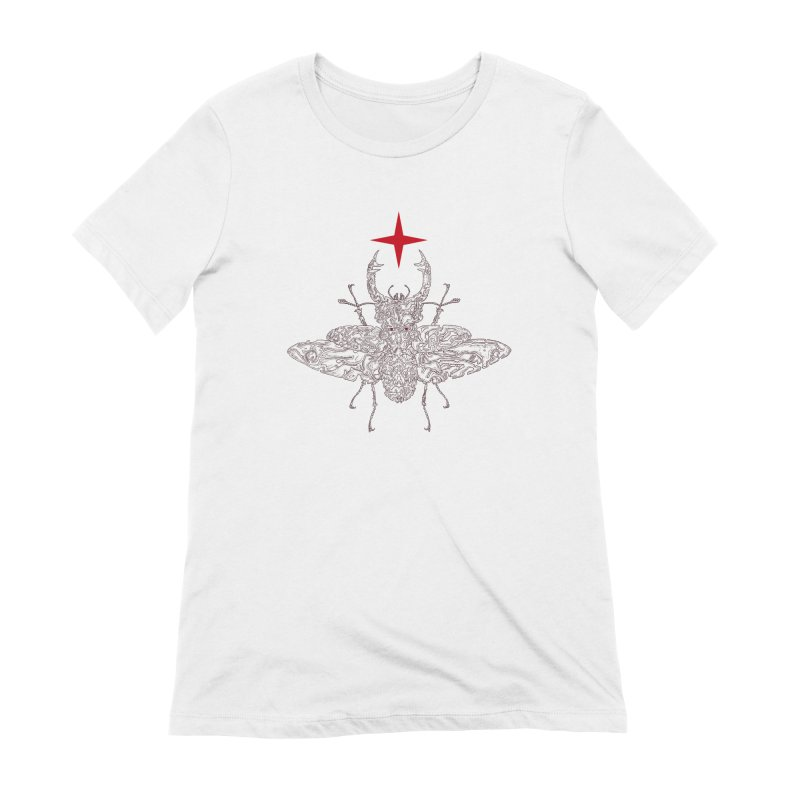 beetle layer of soul Women's Extra Soft T-Shirt by makapa's Artist Shop