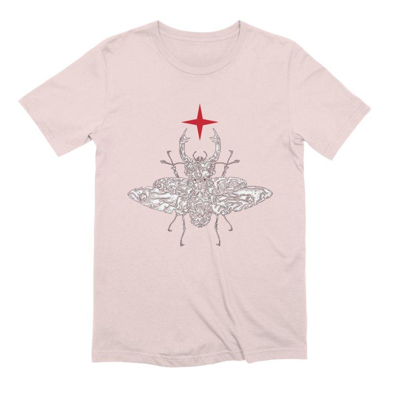 beetle layer of soul Men's T-Shirt by makapa's Artist Shop
