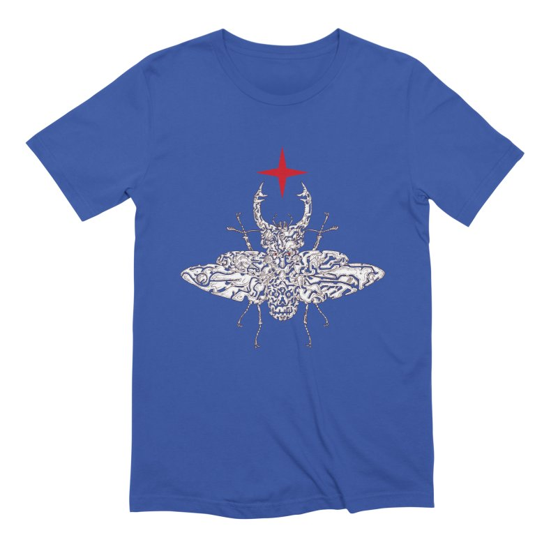 beetle layer of soul Men's T-Shirt by makapa's Artist Shop