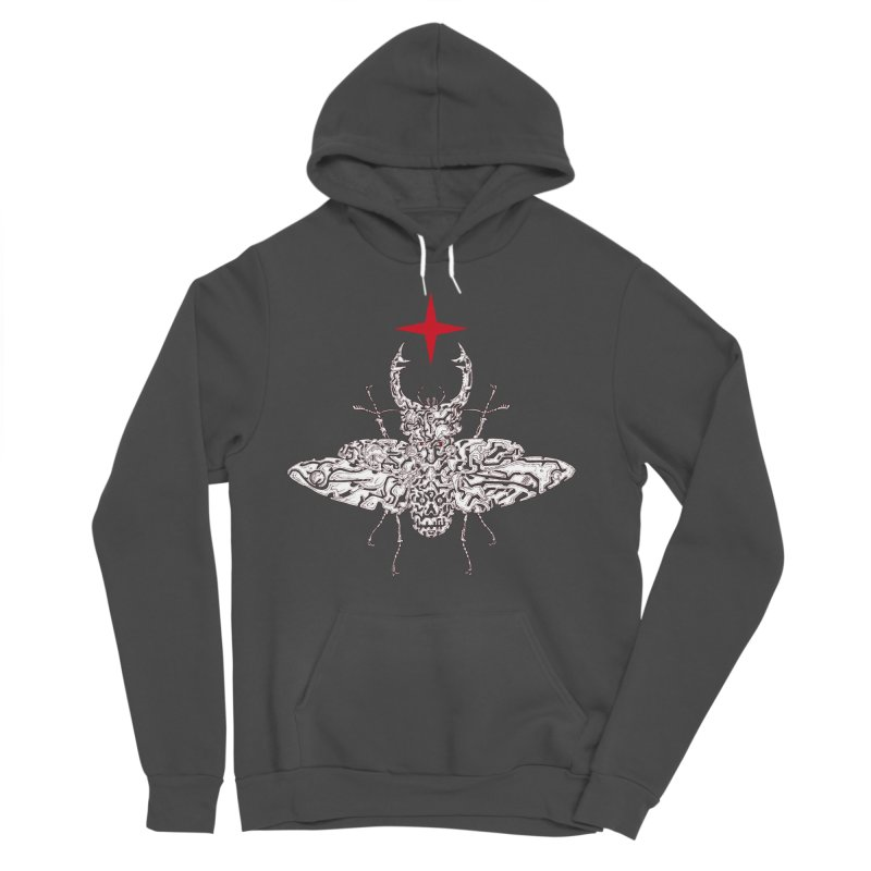 beetle layer of soul Men's Sponge Fleece Pullover Hoody by makapa's Artist Shop
