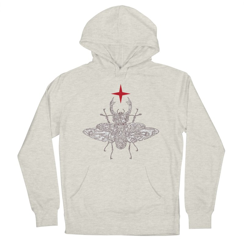 beetle layer of soul Women's French Terry Pullover Hoody by makapa's Artist Shop