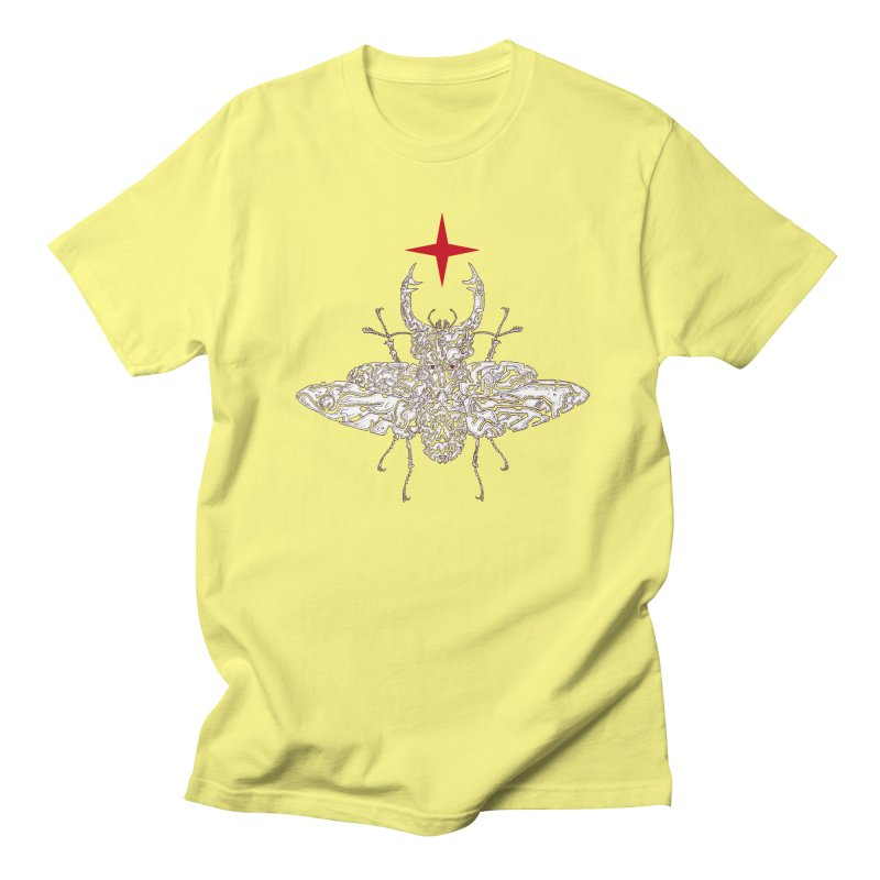 beetle layer of soul Women's Regular Unisex T-Shirt by makapa's Artist Shop