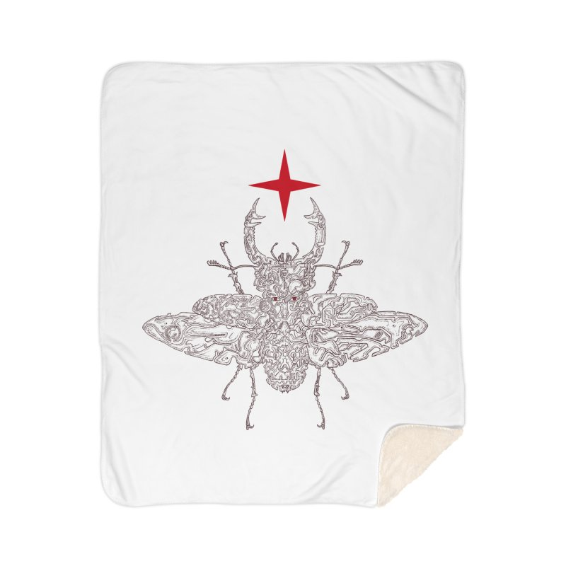 beetle layer of soul Home Blanket by makapa's Artist Shop