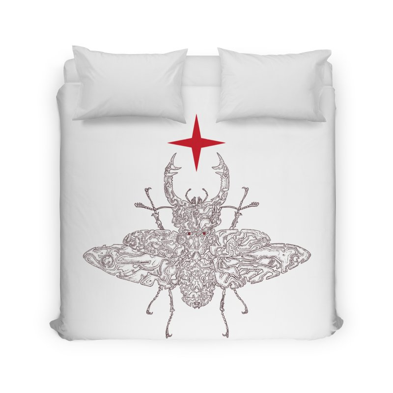 beetle layer of soul Home Duvet by makapa's Artist Shop