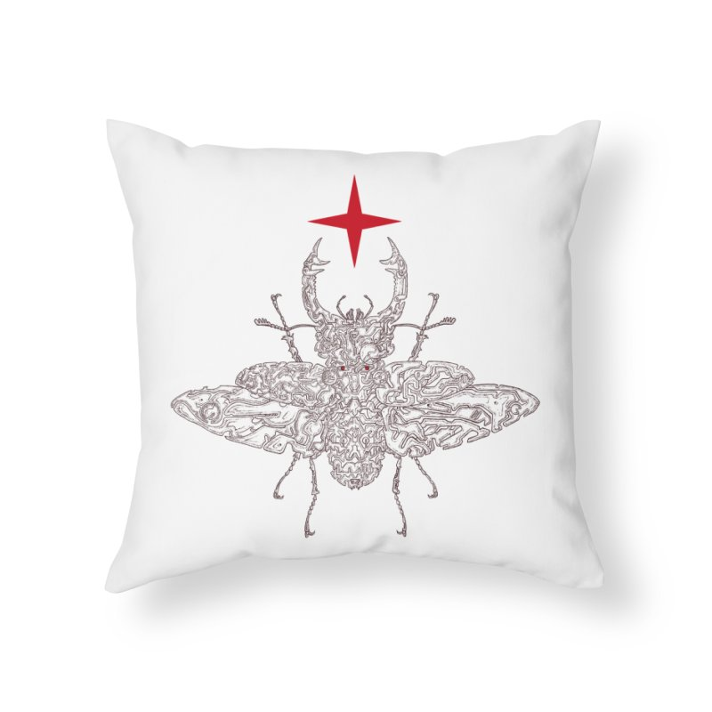 beetle layer of soul Home Throw Pillow by makapa's Artist Shop