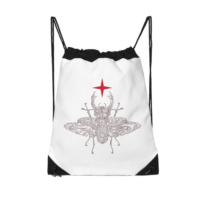 beetle layer of soul Accessories Drawstring Bag Bag by makapa's Artist Shop