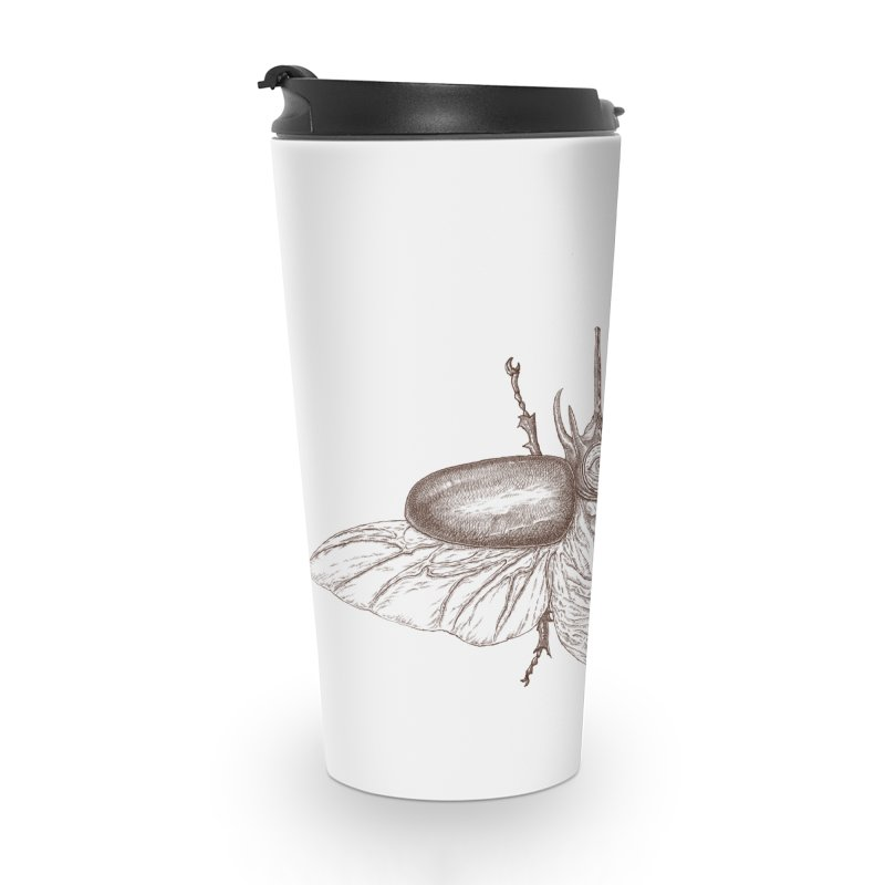 contrast artistic Accessories Travel Mug by makapa's Artist Shop