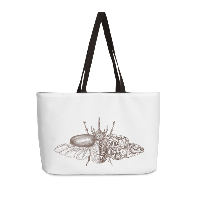 contrast artistic Accessories Weekender Bag Bag by makapa's Artist Shop