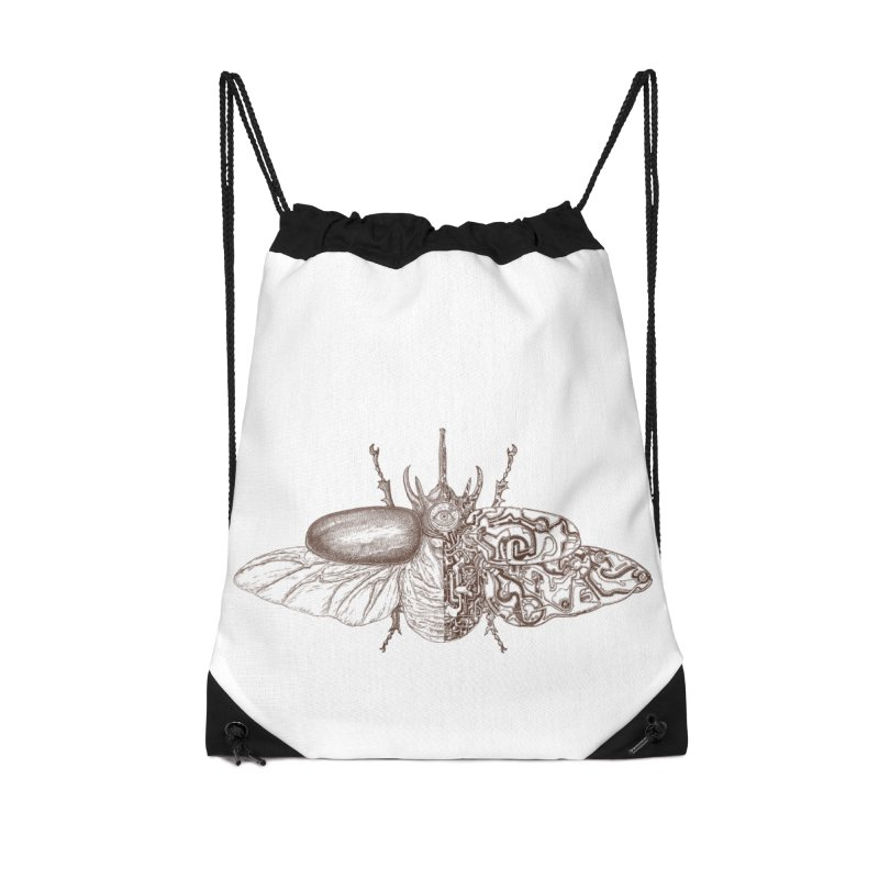 contrast artistic Accessories Drawstring Bag Bag by makapa's Artist Shop
