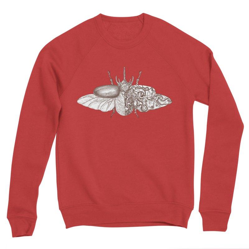 contrast artistic Women's Sponge Fleece Sweatshirt by makapa's Artist Shop