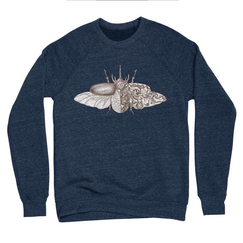 contrast artistic Men's Sponge Fleece Sweatshirt by makapa's Artist Shop