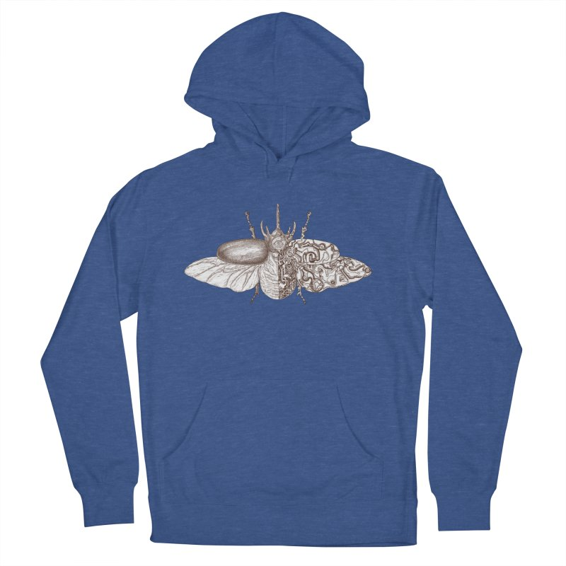 contrast artistic Women's French Terry Pullover Hoody by makapa's Artist Shop