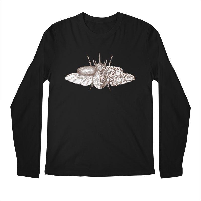 contrast artistic Men's Regular Longsleeve T-Shirt by makapa's Artist Shop