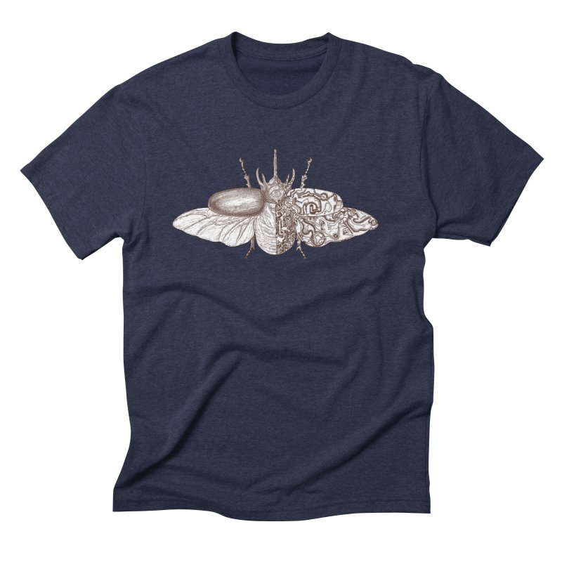 contrast artistic Men's Triblend T-Shirt by makapa's Artist Shop