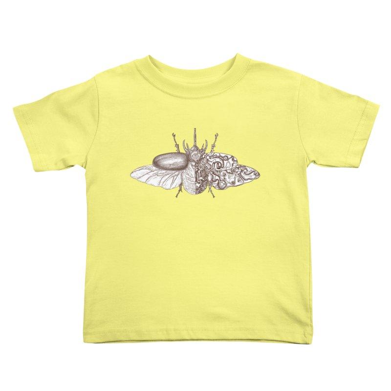contrast artistic Kids Toddler T-Shirt by makapa's Artist Shop