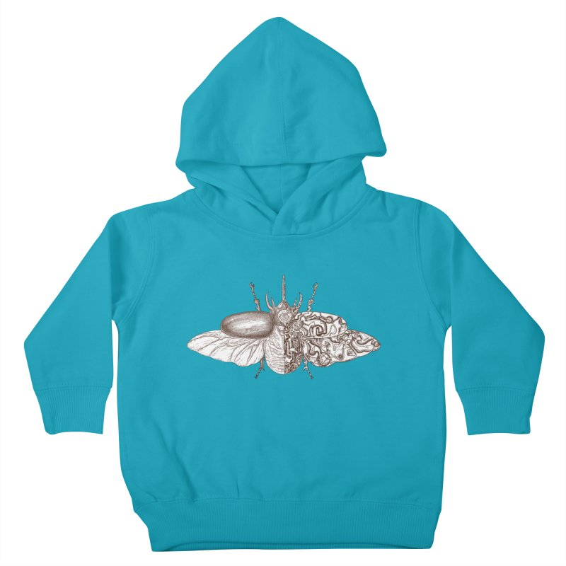 contrast artistic Kids Toddler Pullover Hoody by makapa's Artist Shop