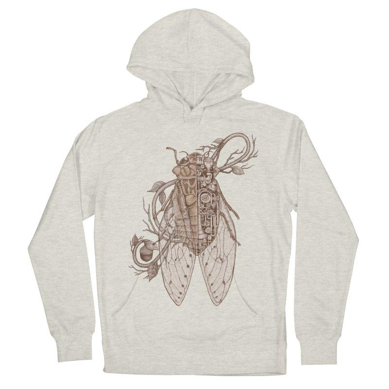 anatomy of cicada Women's Pullover Hoody by makapa's Artist Shop