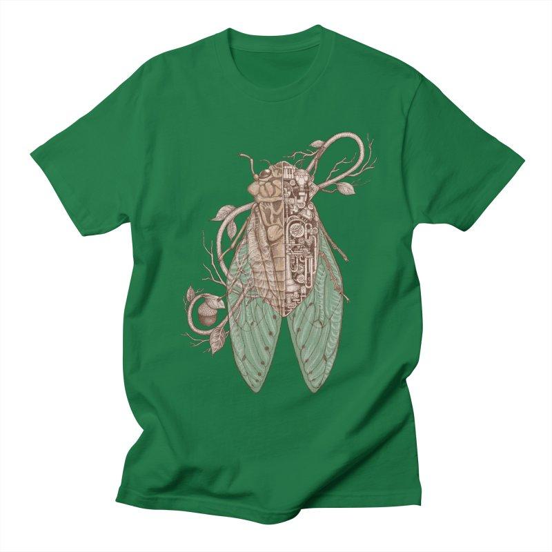 anatomy of cicada Women's Unisex T-Shirt by makapa's Artist Shop