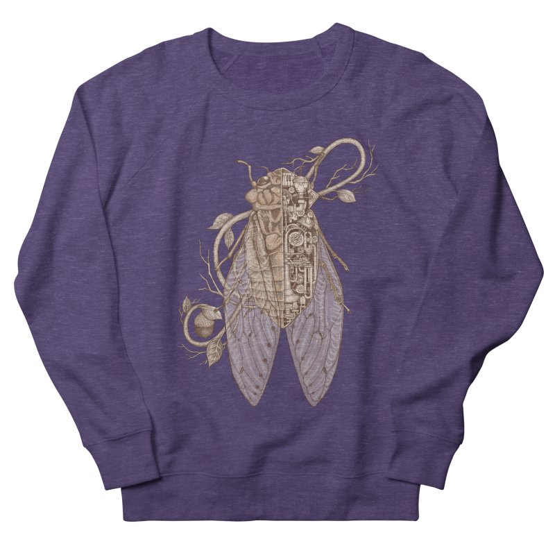 anatomy of cicada Men's Sweatshirt by makapa's Artist Shop