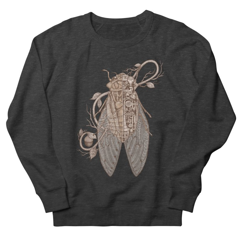 anatomy of cicada Men's Sweatshirt by makapa's Artist Shop