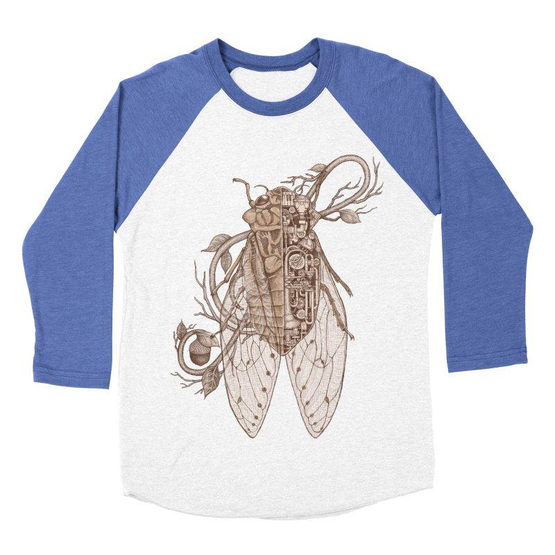 anatomy of cicada Men's Baseball Triblend T-Shirt by makapa's Artist Shop