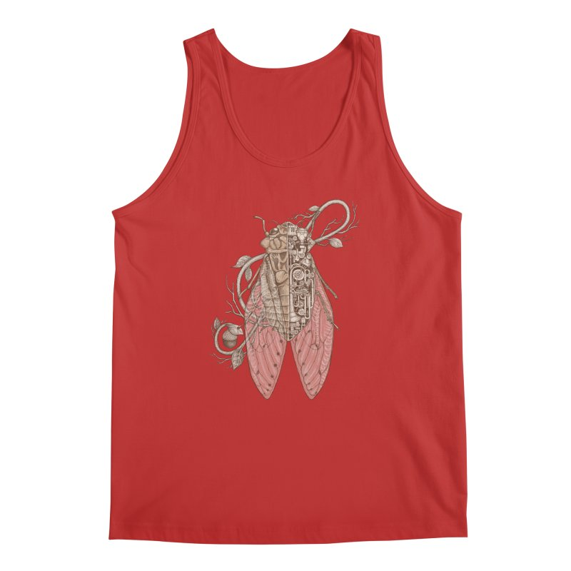 anatomy of cicada Men's Tank by makapa's Artist Shop