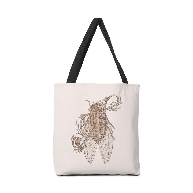 anatomy of cicada Accessories Bag by makapa's Artist Shop