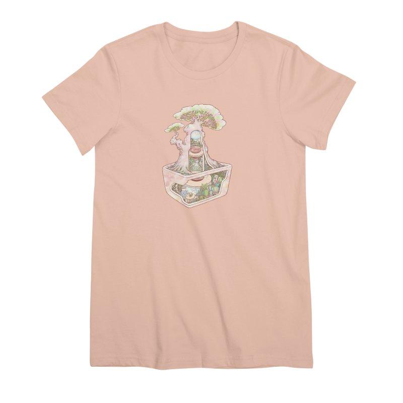 taste of slow Women's Premium T-Shirt by makapa's Artist Shop