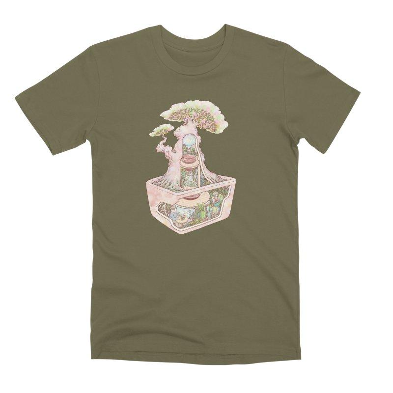 taste of slow Men's Premium T-Shirt by makapa's Artist Shop