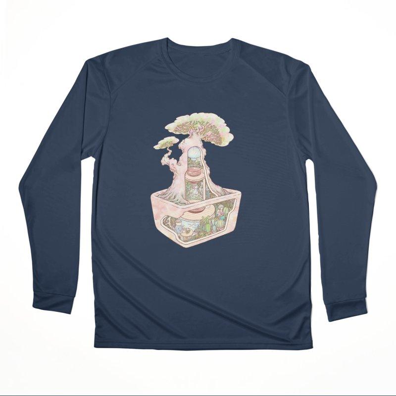 taste of slow Men's Performance Longsleeve T-Shirt by makapa's Artist Shop