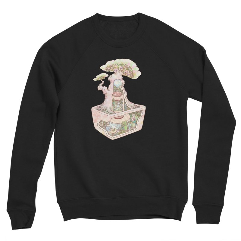 taste of slow Men's Sponge Fleece Sweatshirt by makapa's Artist Shop