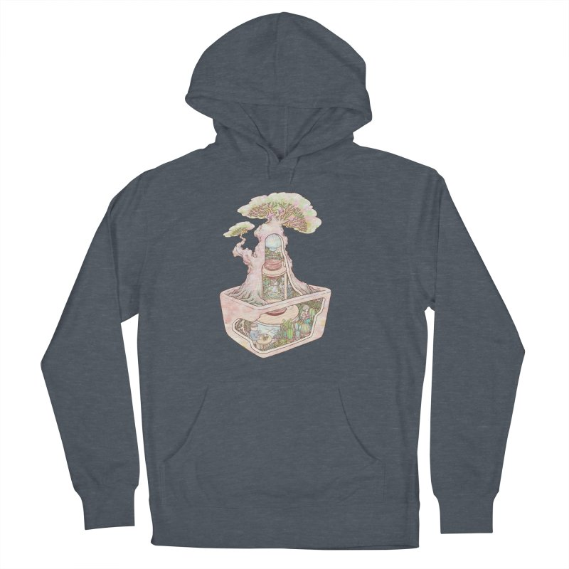 taste of slow Men's French Terry Pullover Hoody by makapa's Artist Shop