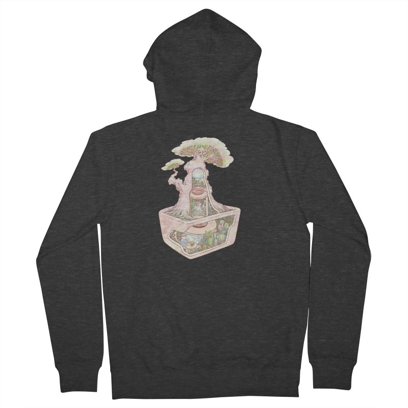 taste of slow Men's French Terry Zip-Up Hoody by makapa's Artist Shop