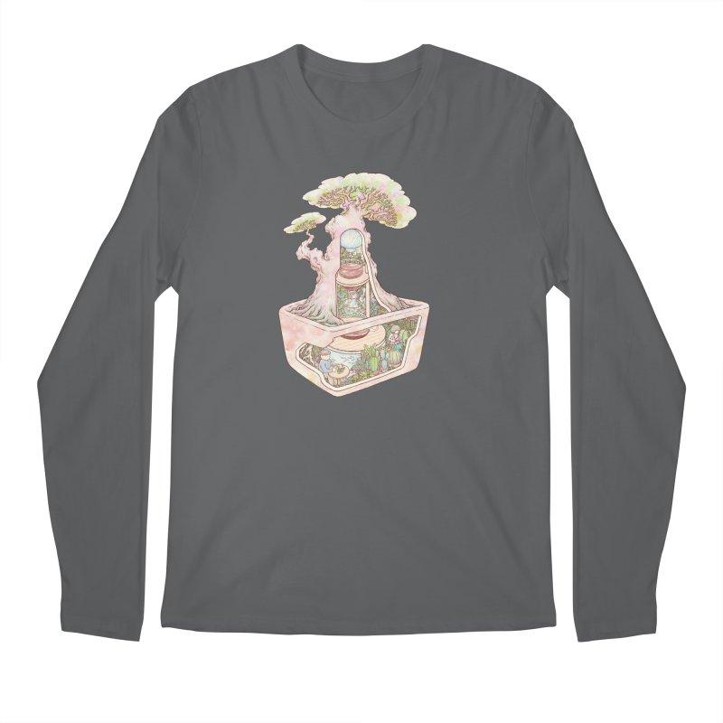 taste of slow Men's Regular Longsleeve T-Shirt by makapa's Artist Shop