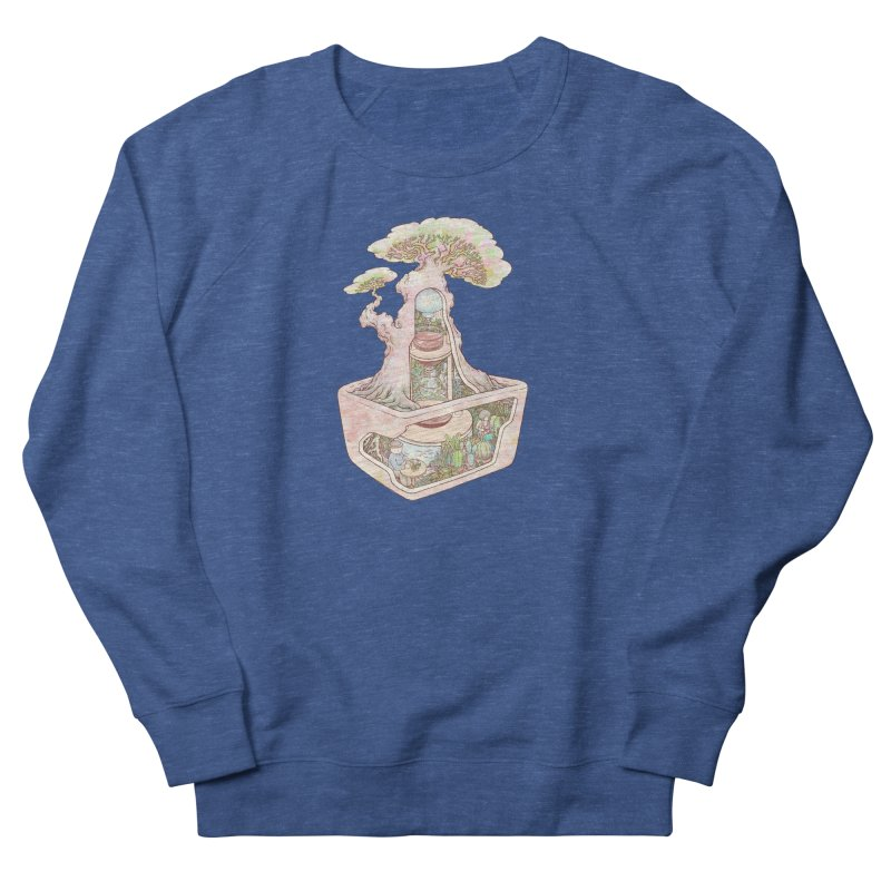 taste of slow Women's French Terry Sweatshirt by makapa's Artist Shop