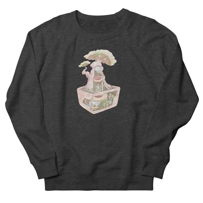taste of slow Men's French Terry Sweatshirt by makapa's Artist Shop