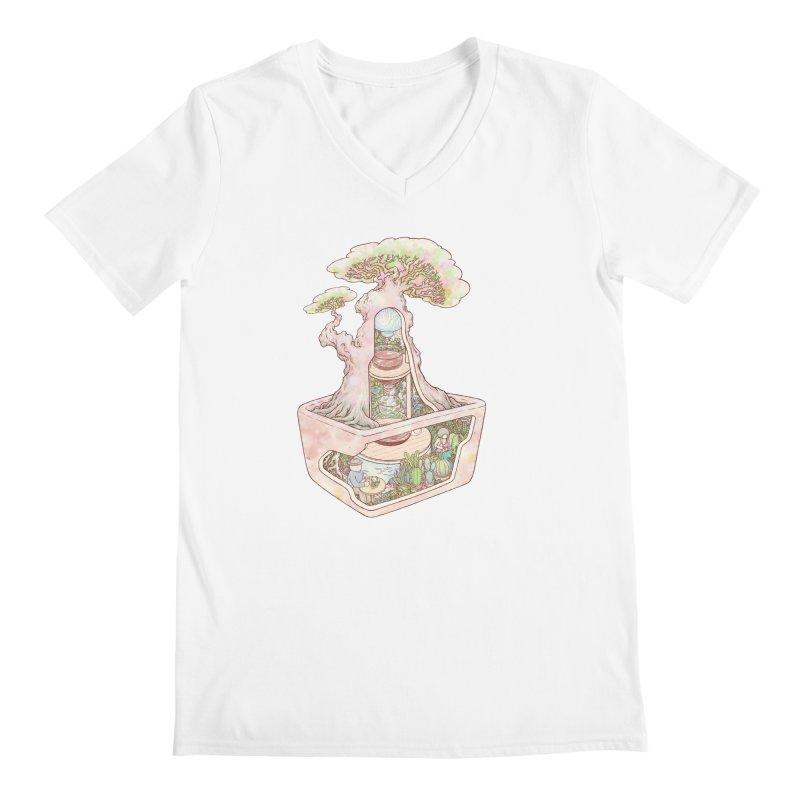taste of slow Men's V-Neck by makapa's Artist Shop