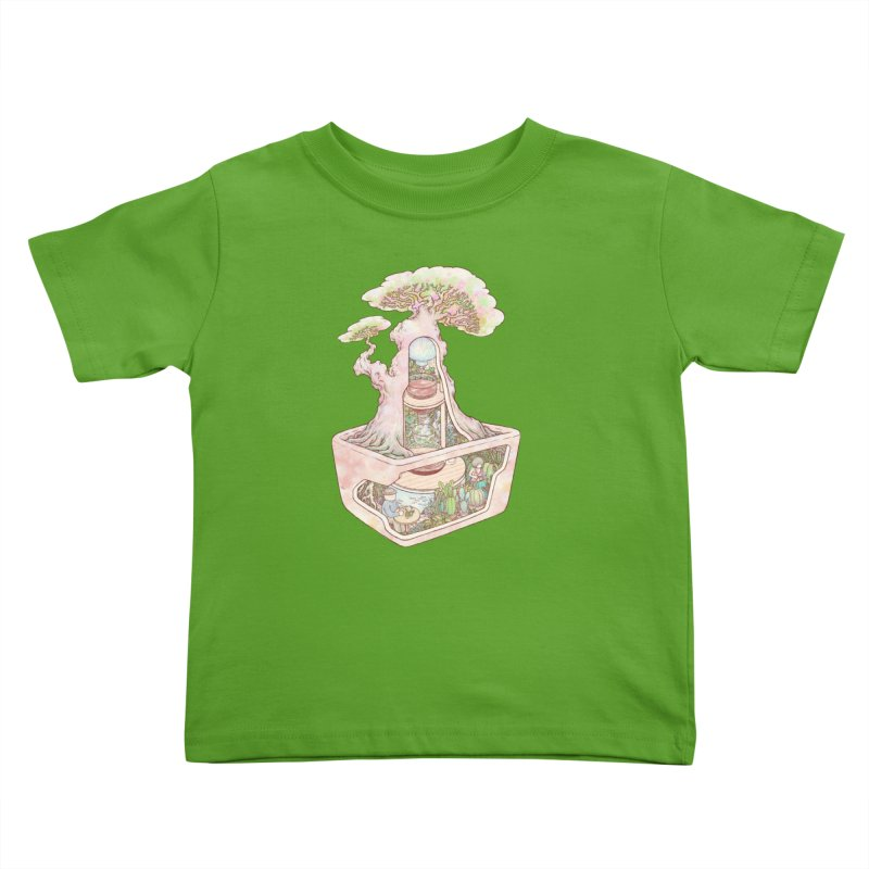 taste of slow Kids Toddler T-Shirt by makapa's Artist Shop
