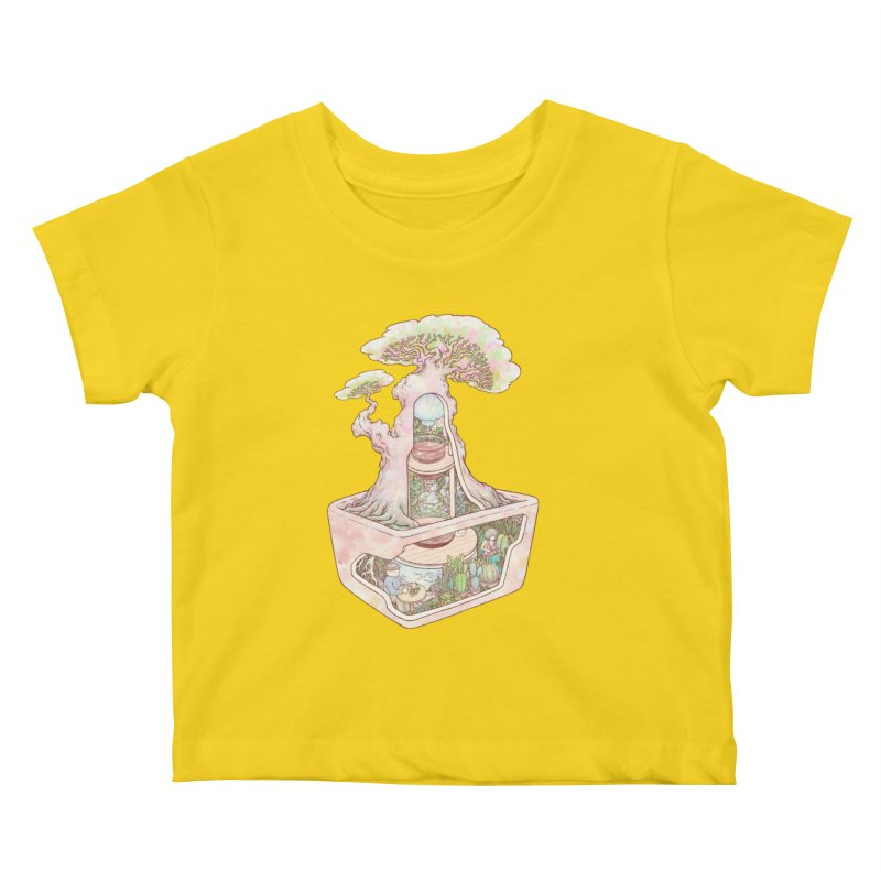 taste of slow Kids Baby T-Shirt by makapa's Artist Shop