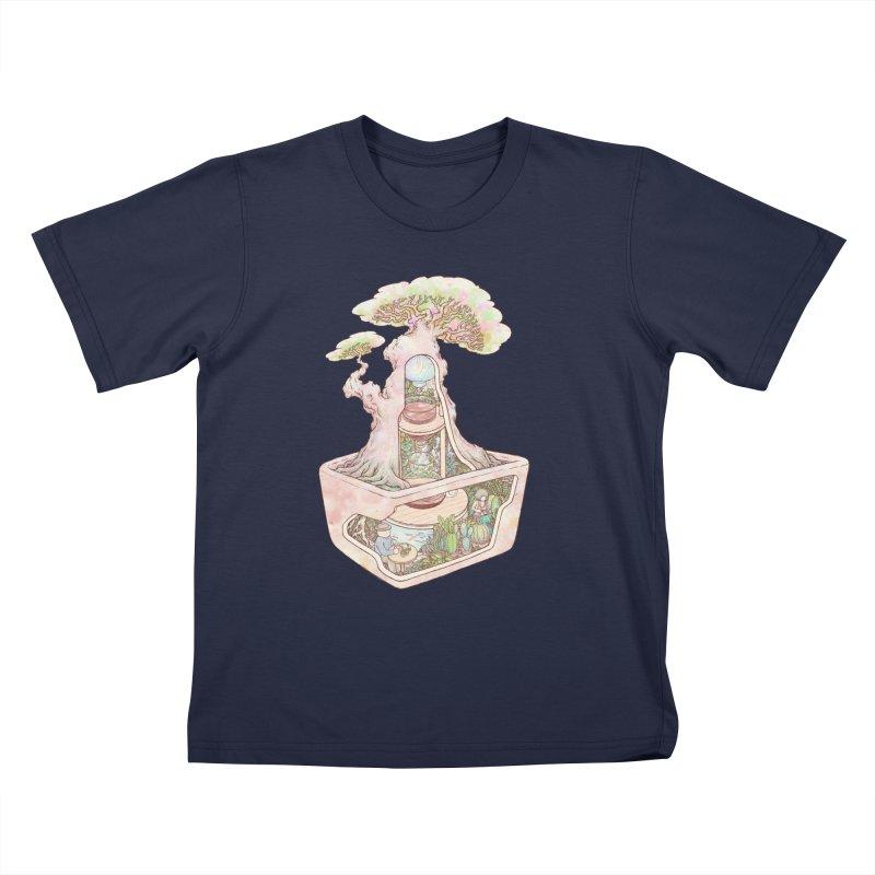 taste of slow Kids T-Shirt by makapa's Artist Shop
