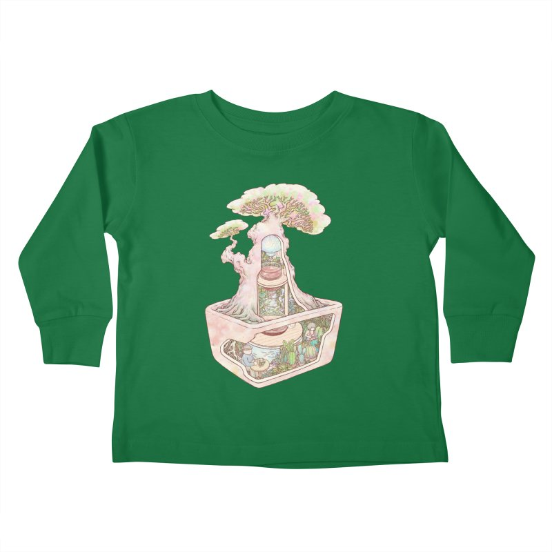 taste of slow Kids Toddler Longsleeve T-Shirt by makapa's Artist Shop