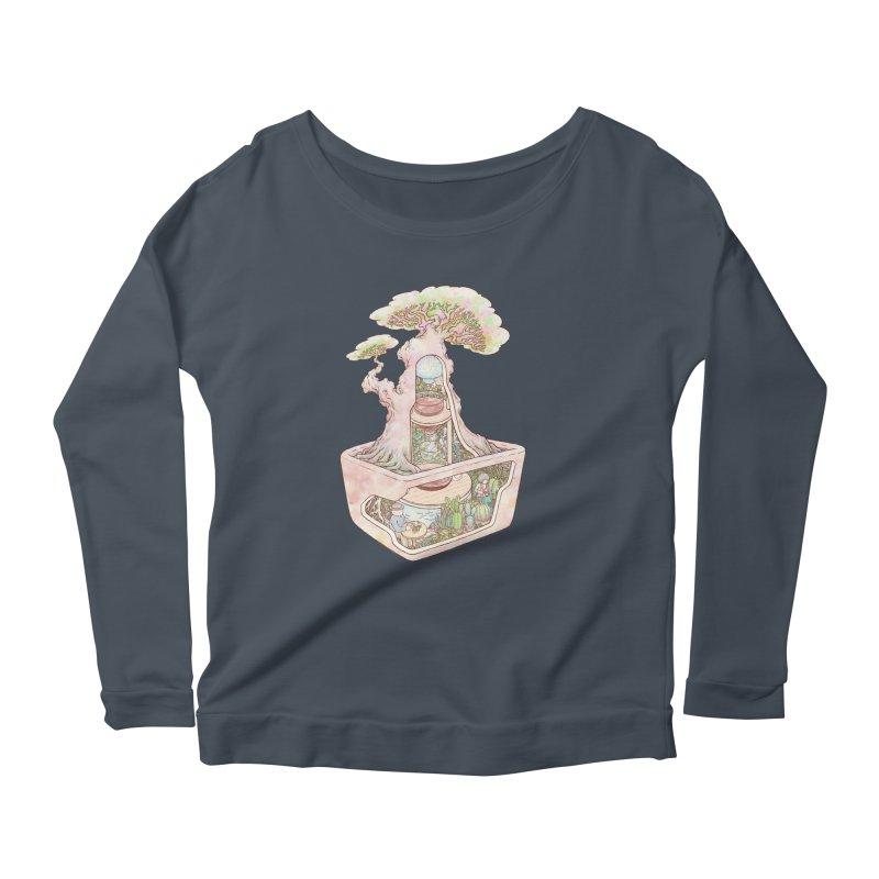 taste of slow Women's Scoop Neck Longsleeve T-Shirt by makapa's Artist Shop