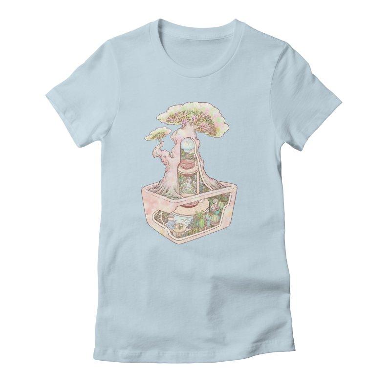 taste of slow Women's Fitted T-Shirt by makapa's Artist Shop